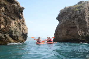 Activity in Kayak - Spanish courses Campus Idiomatico Malaga