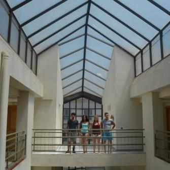 Building- Campus Idiomático-International Spanish School in Malaga