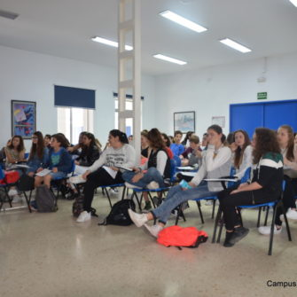 Campus Idiomático - Intensive Spanish Course- four young and old people - Málaga - Spain