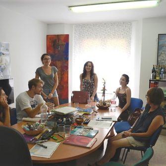 Campus Idiomatico - cursos de espanol - en malaga - alumnos - escuela
