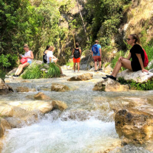 Rio Chillar - adventure activities - Malaga -  Campus Idiomatico - Spanish Courses